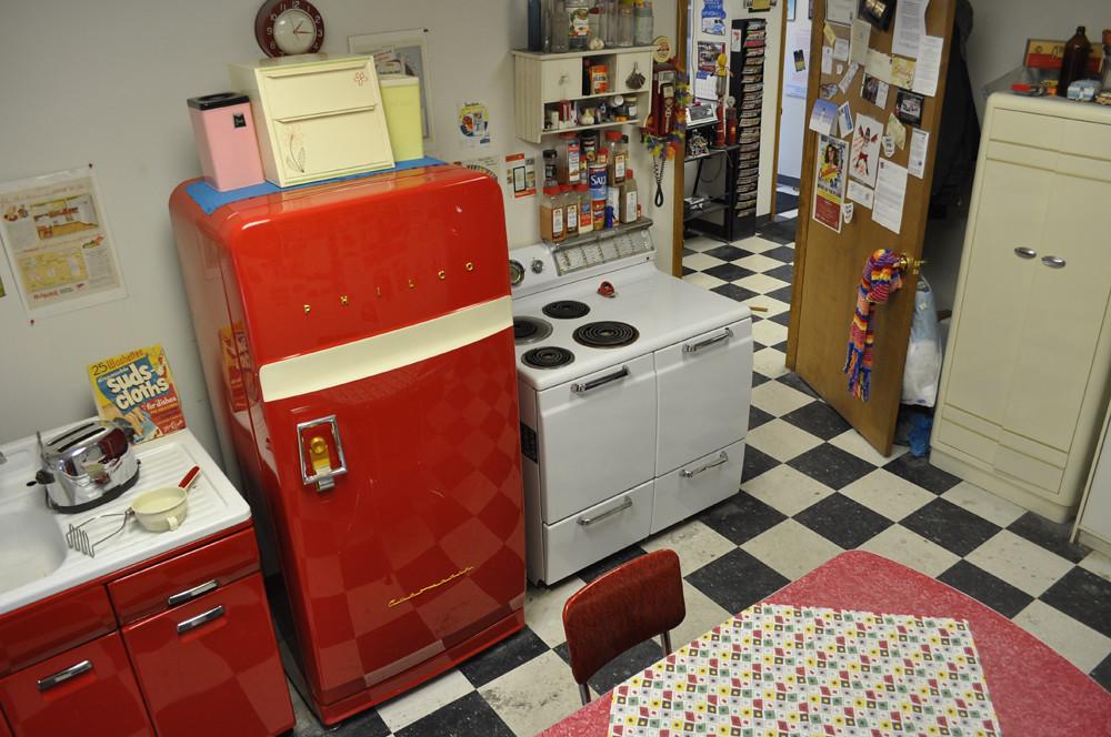 Our Vintage Kitchen At The Shop Clean Cut Creations Vintage Auto Works Fl