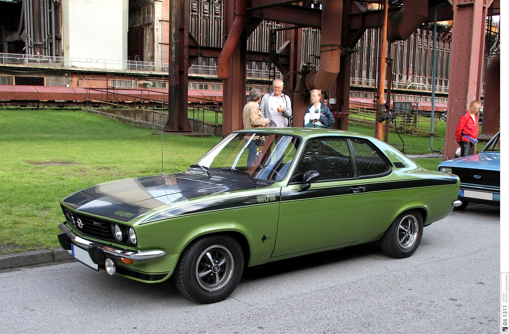 1974 Opel Manta A Gt E 01 The Manta A Was Released In