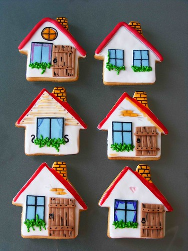 House shaped cookies | by bubolinkata
