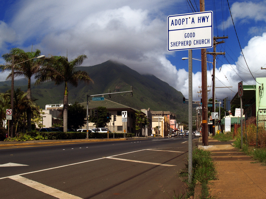 Kahului Downtown In Maui Marko Forsten Flickr