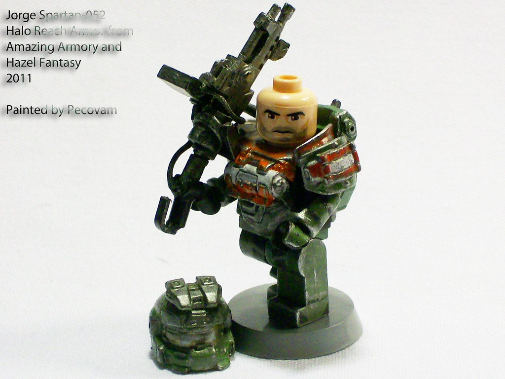 Jorge spartan 052 another amazing custom set of armor - Lego spartan halo ...