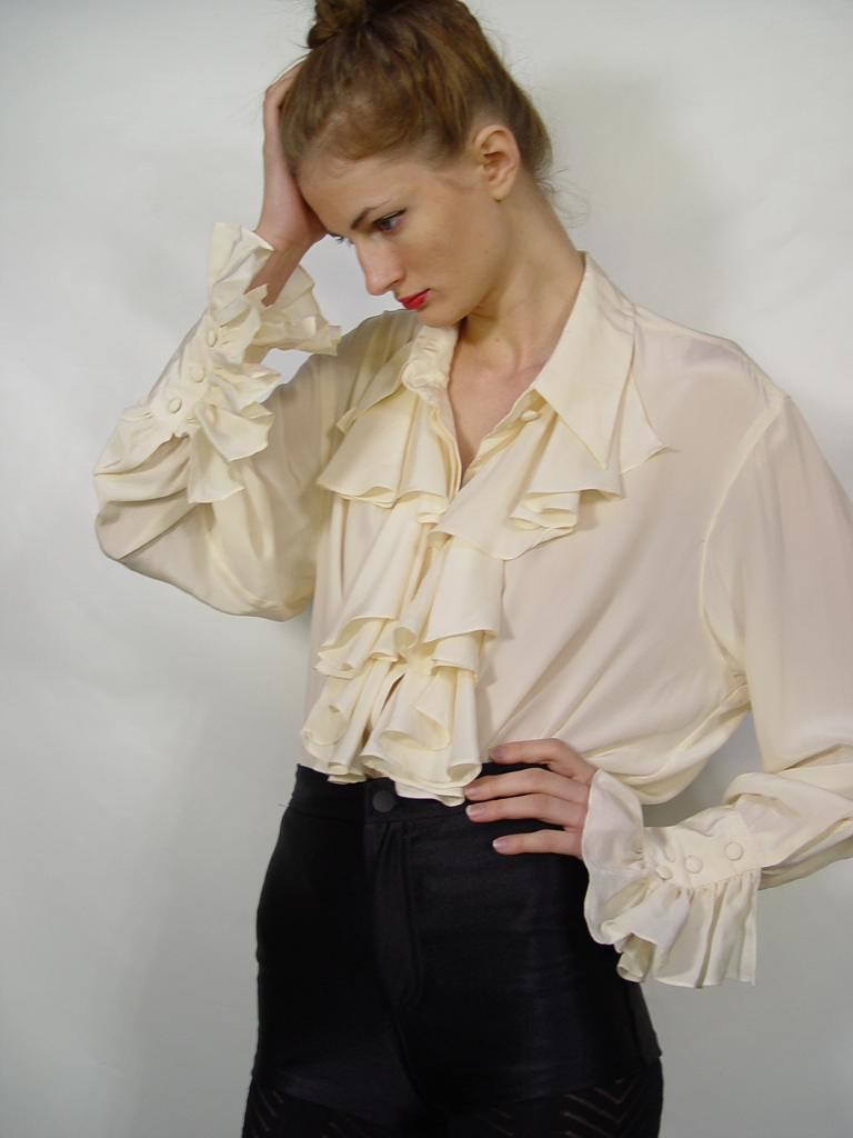 Satin Shirt Women