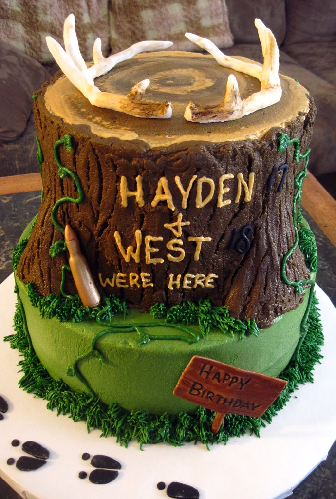 Hunting cake This cake was for