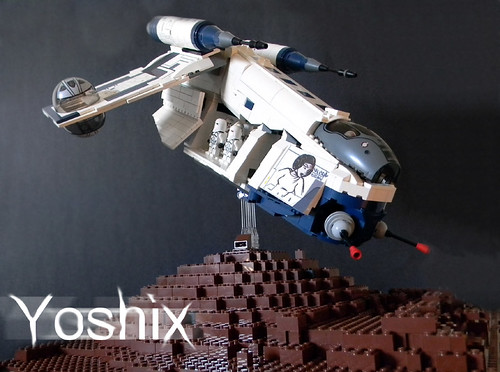 Republic Gunship | by yoshix