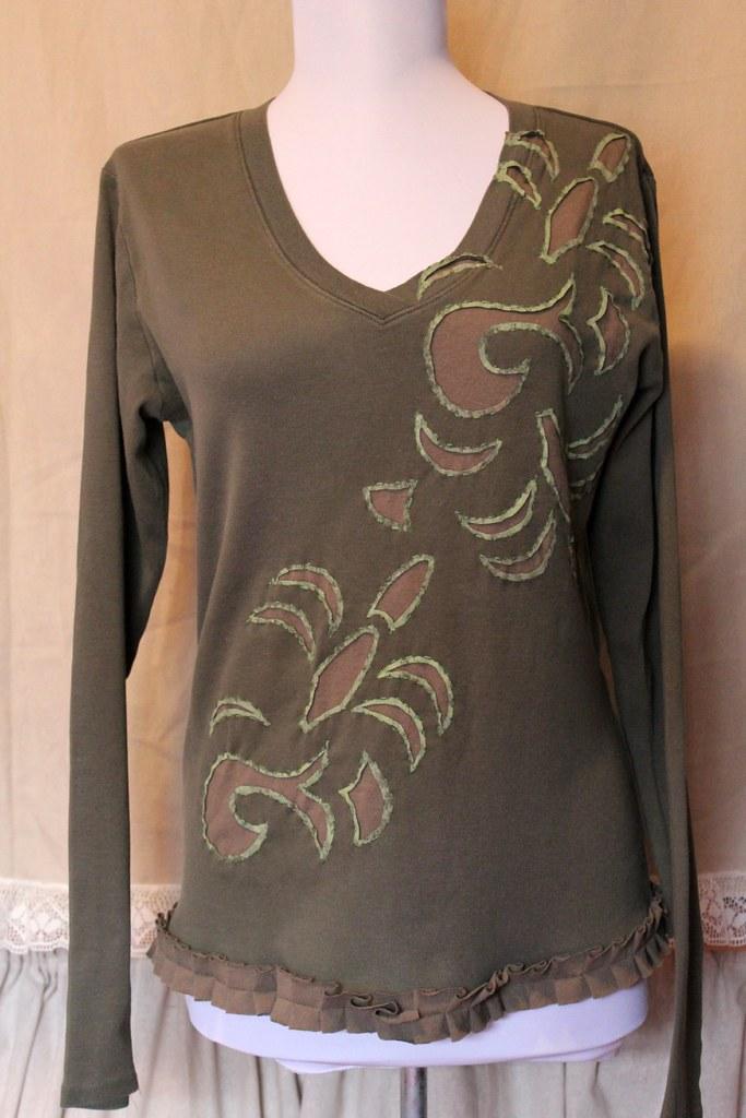 Reverse Applique T Shirt Reverse Applique T Shirt Flickr