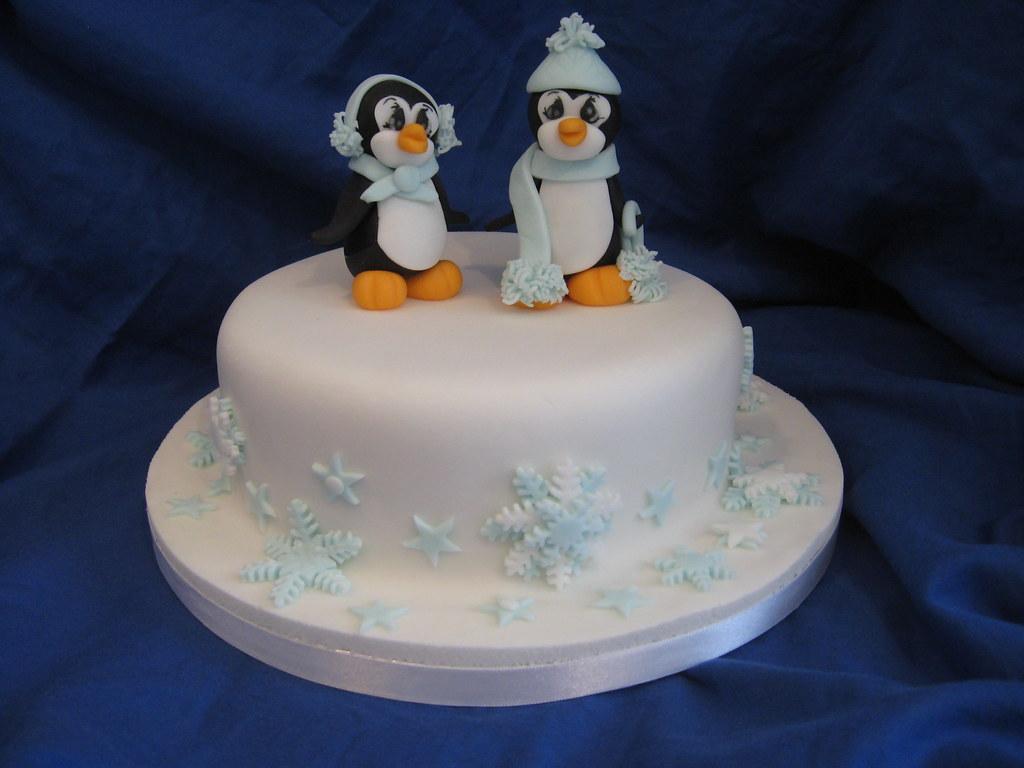 D Penguin Cake Pan