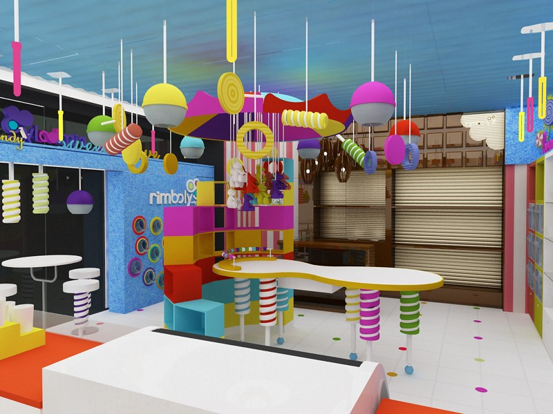 candy and chocolate shop dise o de tiendas muebles para