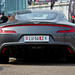 Aston Martin One-77 from behind..