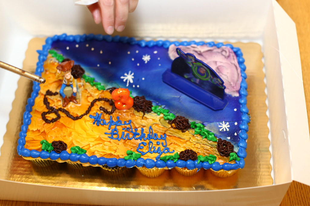 Toy Story Cake From Publix Littlelostrobot Flickr