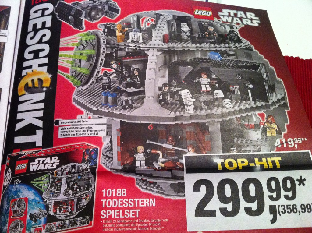 ob das schon was f r alex100310 ist lego starwars tod. Black Bedroom Furniture Sets. Home Design Ideas