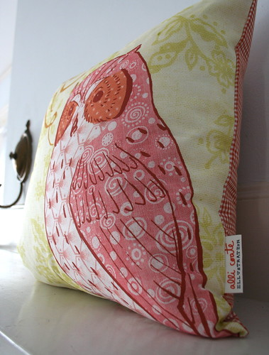 Illustrated Pillow | by acoate