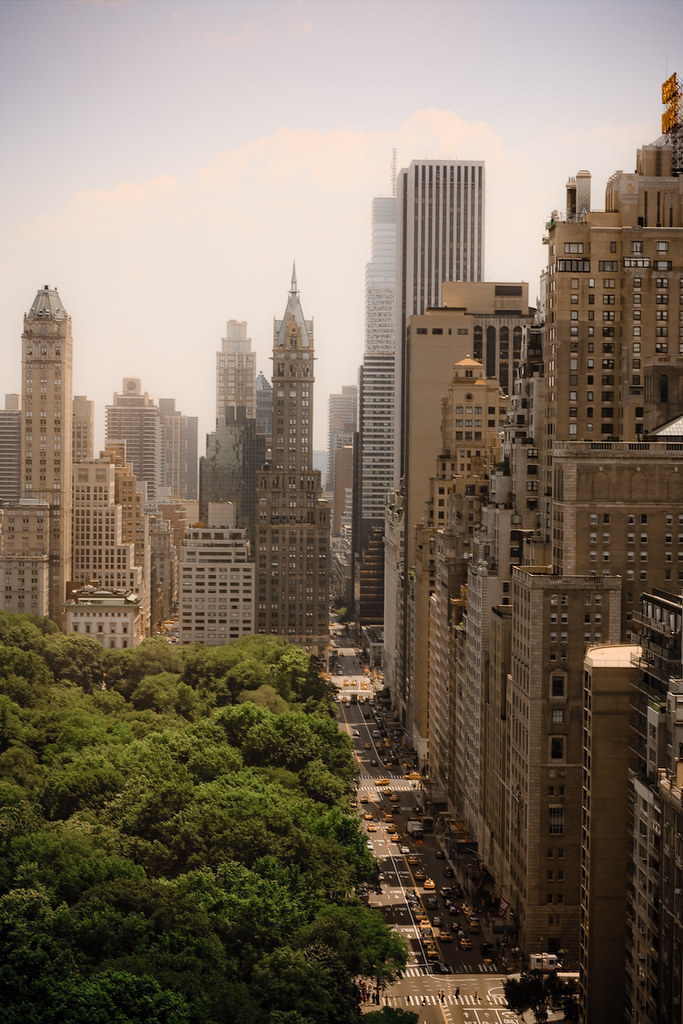 Midtown my dslr was getting jealous this is the view for Apartment overlooking central park