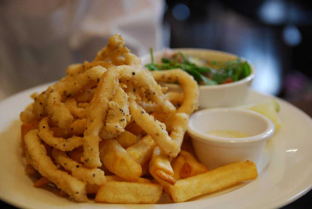 Salt and Pepper Calamari - Pugg Mahones Tuesday AUD10 Special