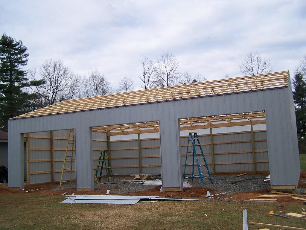 Diy Pole Barns Pole Barn Garage In Flat Rock Nc Diy