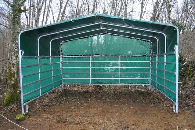 Portable Livestock Shelters : Jan horse shelter portable flickr photo sharing
