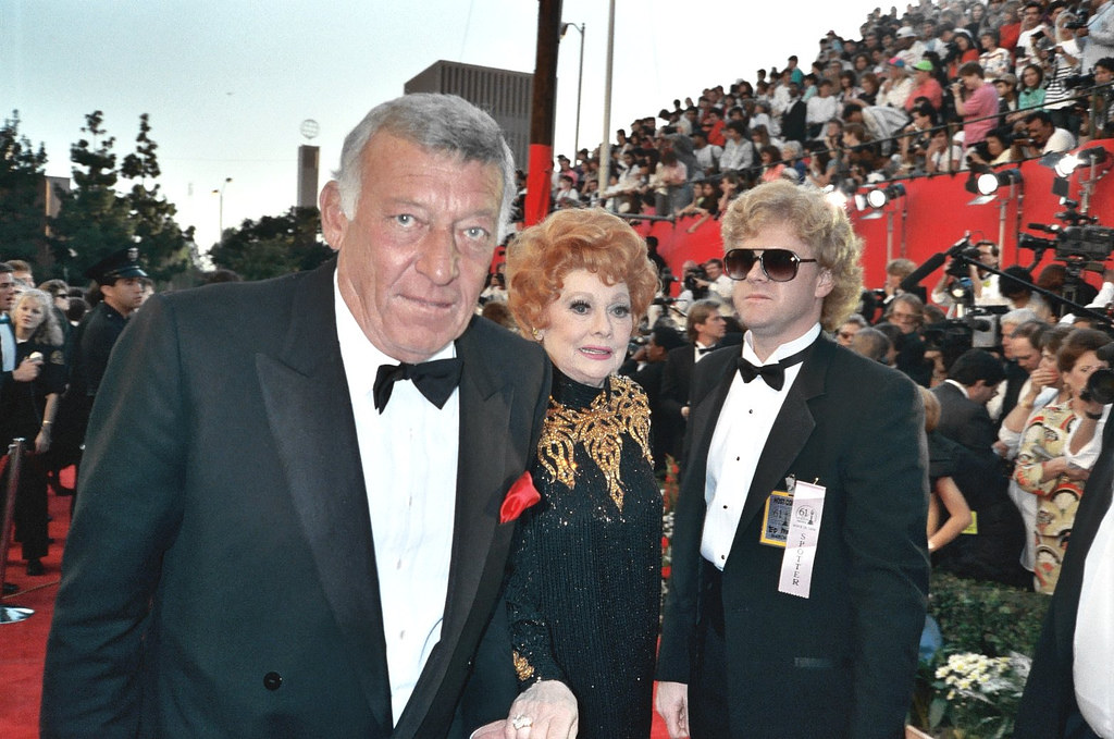 Lucille Ball April 1989 The Academy Awards Lucille