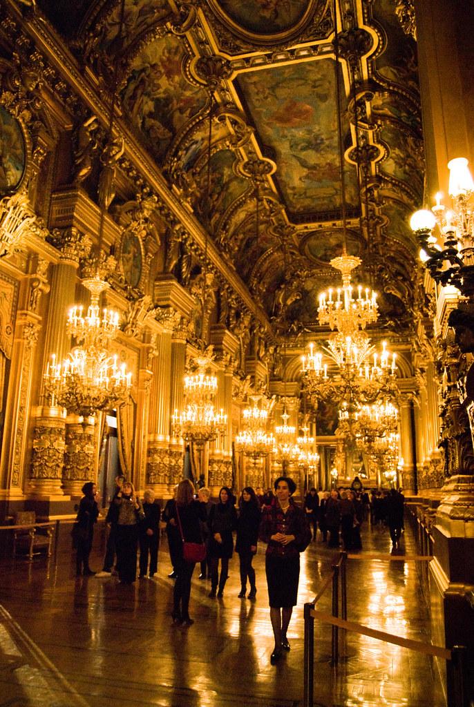 L Opéra Garnier Grand Foyer De L Opera : Le grand foyer de l opéra garnier paris ème et si on se