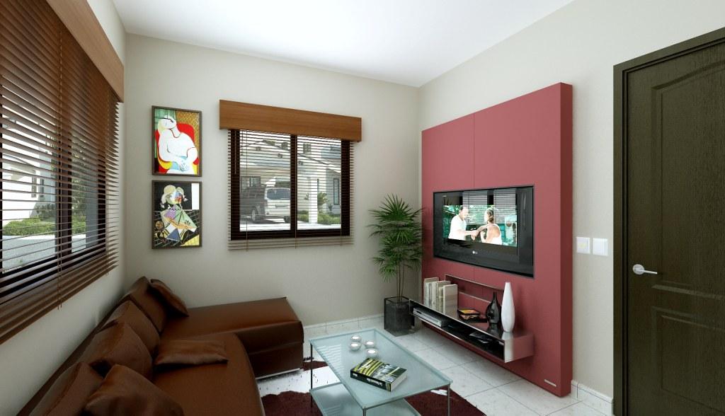 Casa modelo victoria interiores render de interiores for Interiores de casas
