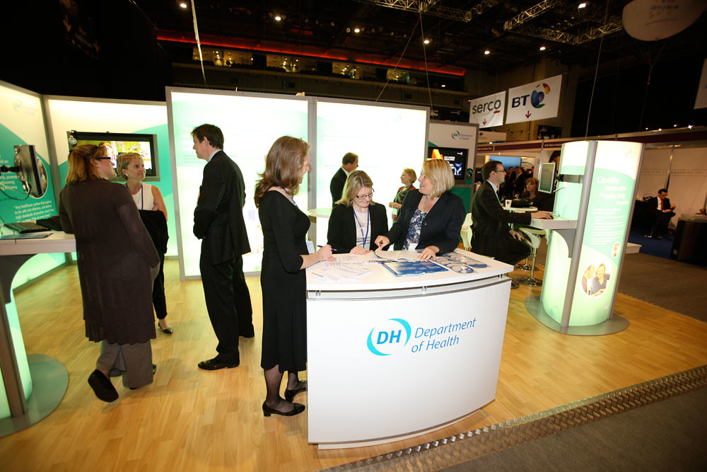 Exhibition Stand Health And Safety : Department of health exhibition stand nhs confederation