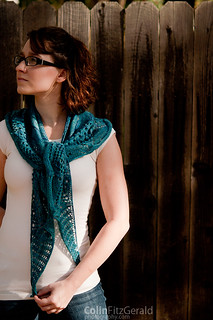 Citizen Shawl | by femme fatale fibers