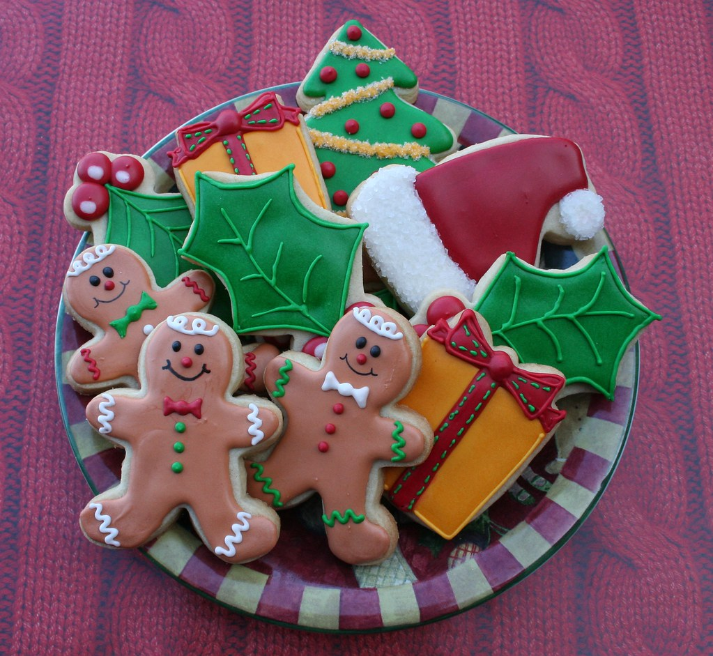 A Little Plate of Christmas Cookies! | Just a little plate o… | Flickr