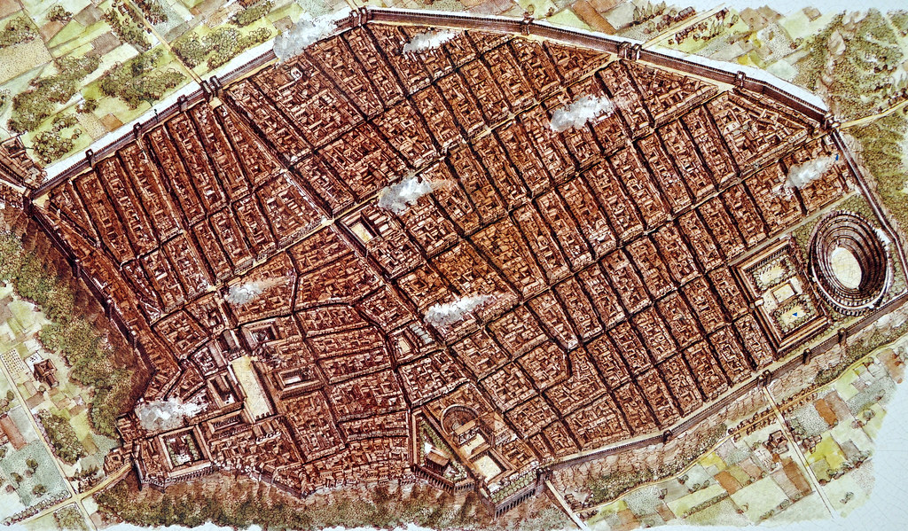 an introduction to the history of the ancient roman city of pompeii Introduction to the ancient roman world map assignment1 1 label the map of the topography of ancient rome what natural/geographic advantages did the city of.