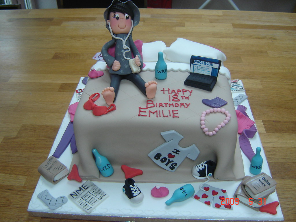 Cake Designs For 14 Year Old Boy : teenagers messy bed cake helen brinksman Flickr