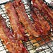 Maple Candied Bacon on Christmas morning