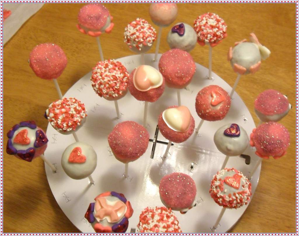 V Cake Pops