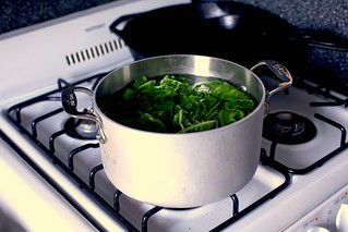 quick-cooking the greens | by smitten kitchen