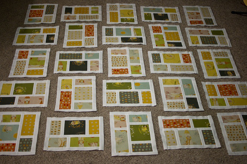 FFA2 Kitchen Windows Quilt Progress All 25 blocks are done? Flickr