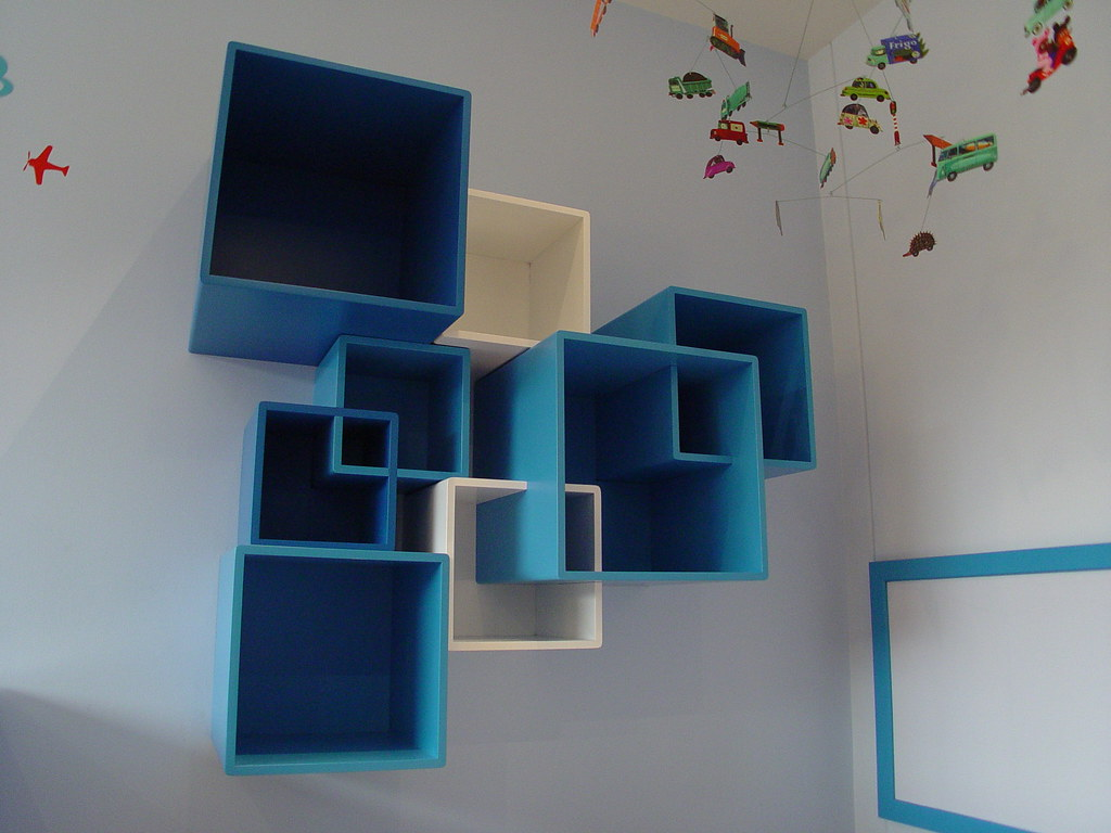 Juguetero a pared muebles infantiles kids furniture flickr - Paredes de diseno ...