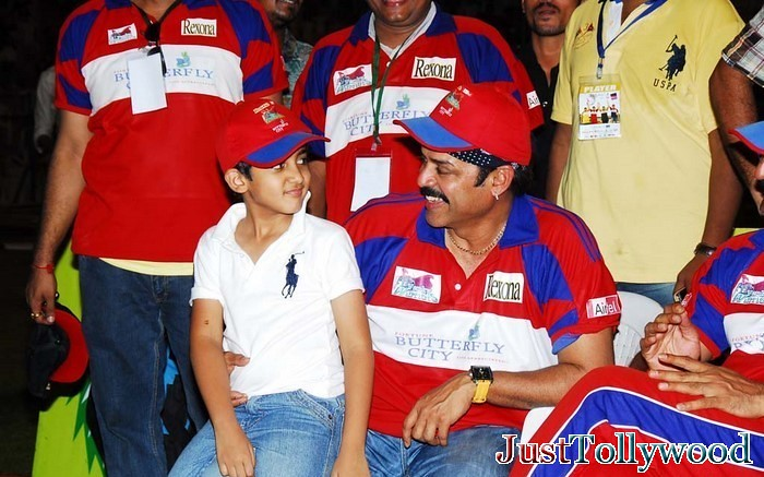 Arjun Son of Venkatesh Venkatesh-with-arjun