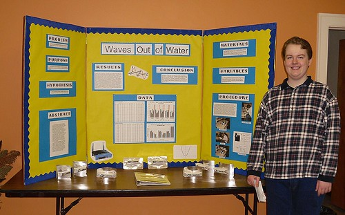 a beka academy 8th grade science project  waves out of