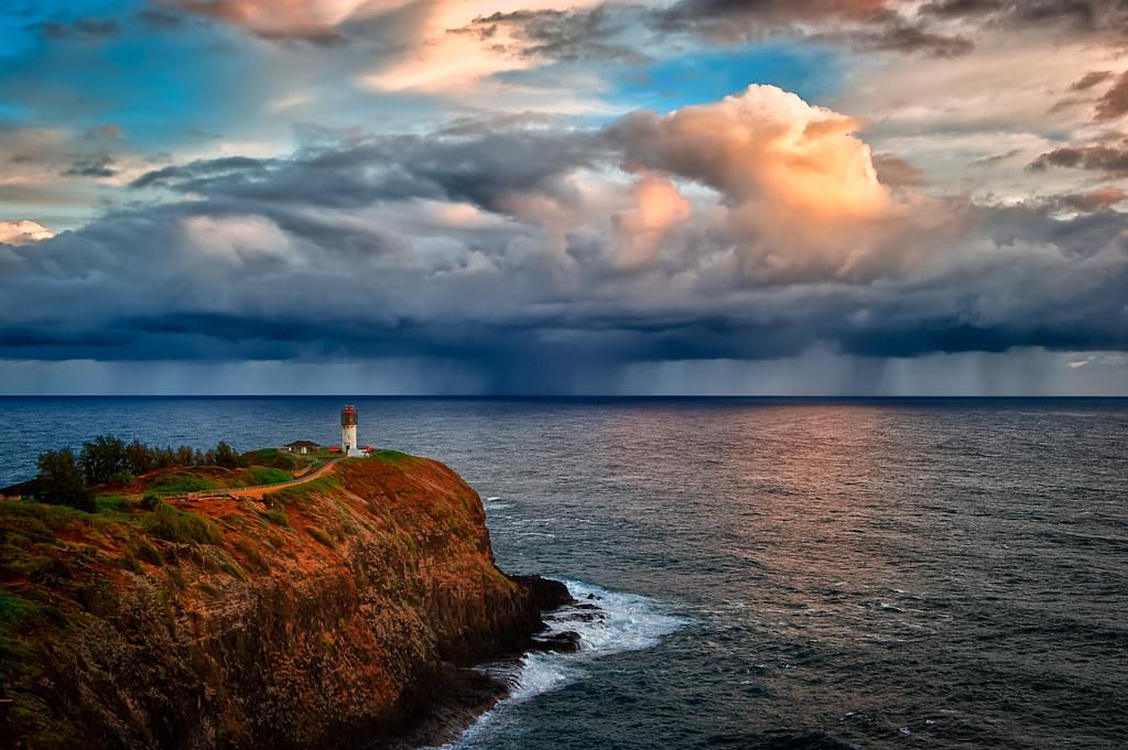 Kilauea Lighthouse Kauai Hawaii Built In 1913 Kilauea