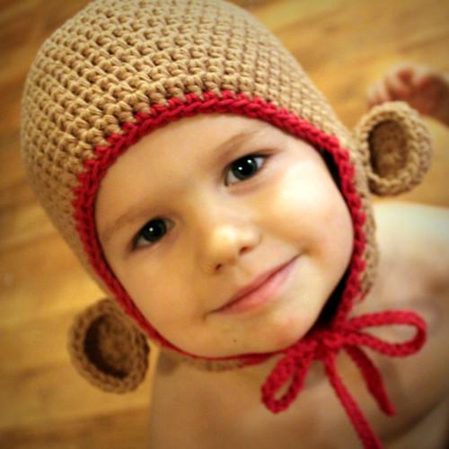 Monkey Hat Free Crochet Pattern Free Crochet Pattern ...