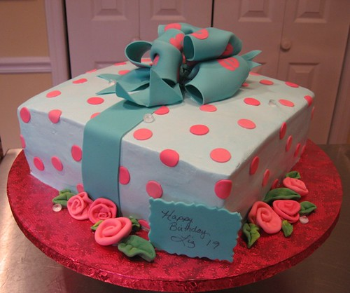 Special Birthday Cake Order