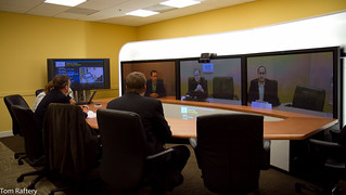 Cisco Telepresence | by Tom Raftery