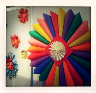 Paper booth decorations | by airdrome