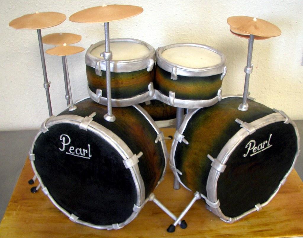 Drum Set Birthday Cake Ideas
