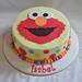 Elmo cake for Isabel