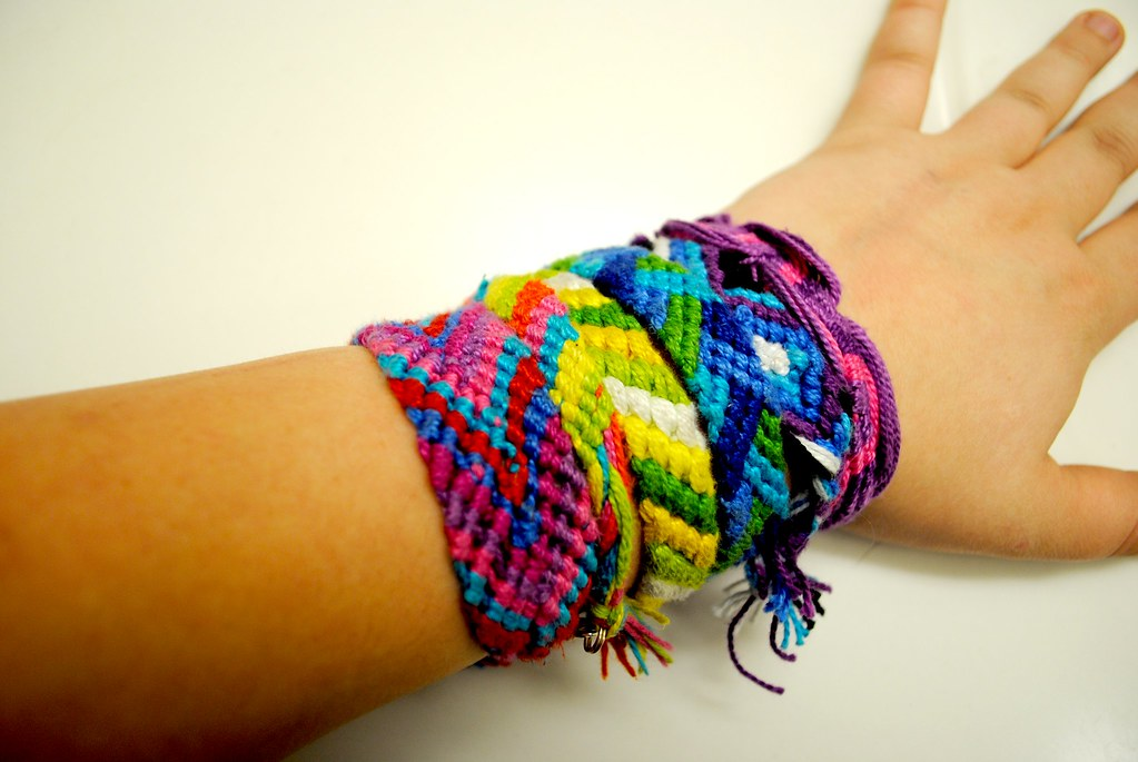 The Friendship Bracelets in Ringparty