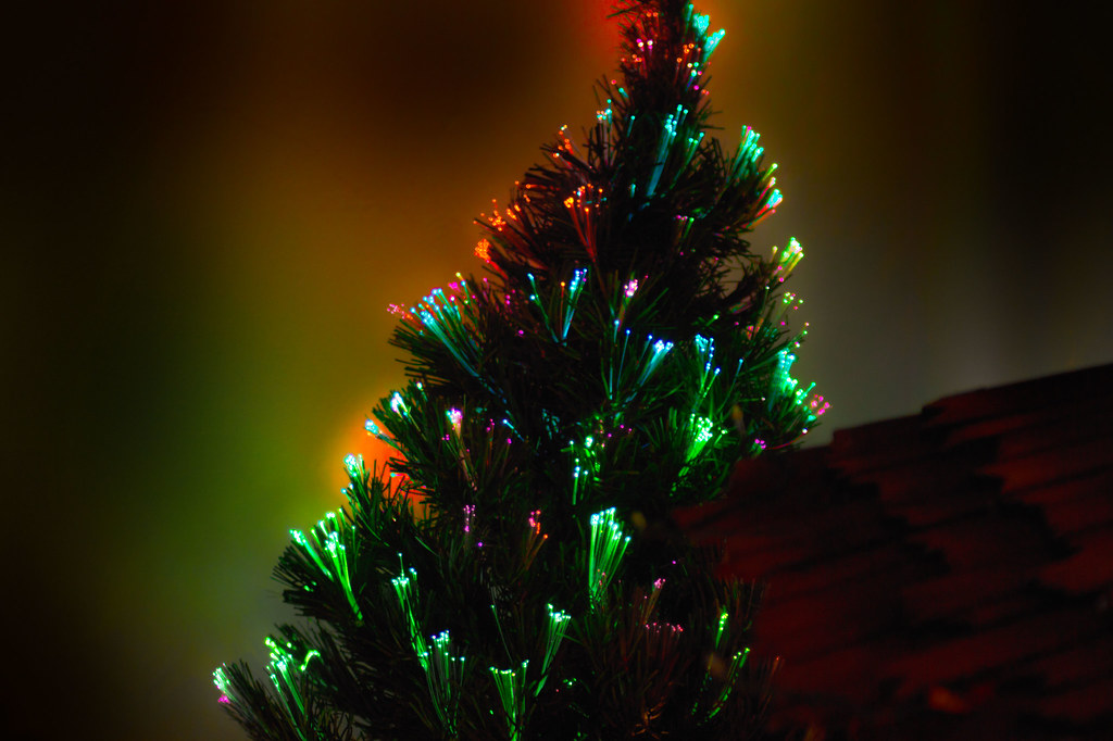 Fiber Optic Christmas Tree Enhanced HDRI
