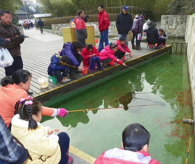 Giochi pesca di pesci rossi vicino al giardino del mandarino yu flickr photo sharing - Giardino del mandarino yu ...