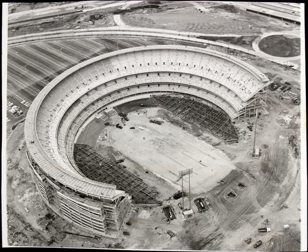 Shea Stadium Construction 1963 Photoscream Flickr
