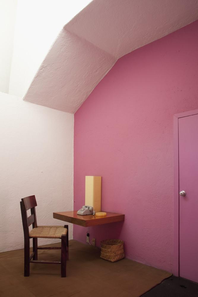 Casa estudio luis barragan interiores de la casa estudio d flickr - Estudio de interiores ...