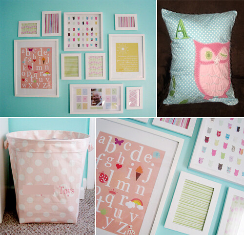 whisical owl nursery for baby girl 1 for more images