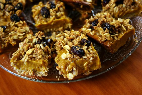 Sweet Potato Crumble Bars | by Kim | Affairs of Living