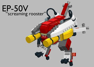 "EP-50V ""Screaming Rooster"" 