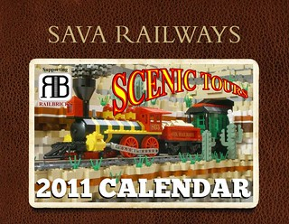Sava Railways Scenic Tours 2011 Calendar | by SavaTheAggie